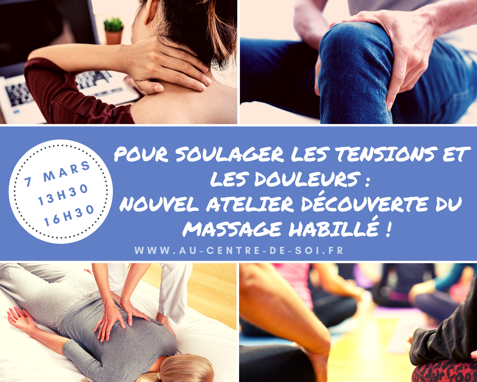 Atelier Massage Au Centre de Soi